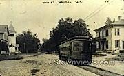 Real Photo - Main St. - Waukau, Wisconsin WI Postcard