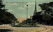 Grand Ave. - MIlwaukee, Wisconsin WI Postcard
