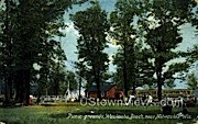 Picnic Grounds - MIlwaukee, Wisconsin WI Postcard