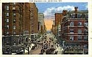 Wisconsin Ave. - MIlwaukee Postcard