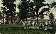 Waukesha Beach - Wisconsin WI Postcard