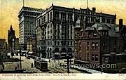 Wisconsin St. - MIlwaukee Postcard