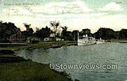 Riverside Park - Neenah, Wisconsin WI Postcard