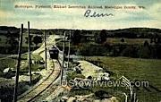 Elkhart Interurban Railroad - Sheboygan, Wisconsin WI Postcard