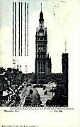 City Hall - MIlwaukee, Wisconsin WI Postcard