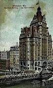 The Pabst Building - MIlwaukee, Wisconsin WI Postcard