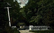 Soldiers Home Street Car Station - MIlwaukee, Wisconsin WI Postcard