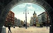 City Hall Square - MIlwaukee, Wisconsin WI Postcard