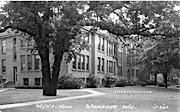 High School - Waukesha, Wisconsin WI Postcard