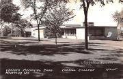 Carrier Memorial Building - Waukesha, Wisconsin WI Postcard