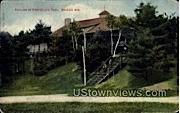 Pavilion At Rothschild's Park - Wausau, Wisconsin WI Postcard