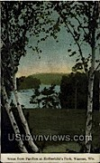 Rothschild's Park - Wausau, Wisconsin WI Postcard
