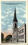 St. Joseph's Church - Waukesha, Wisconsin WI Postcard