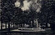 The Fountain - Waukesha, Wisconsin WI Postcard