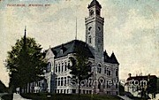 Court House  - Waukesha, Wisconsin WI Postcard