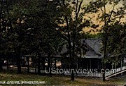 Lithia Spring - Waukesha, Wisconsin WI Postcard