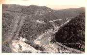 New River Canyon - Gauley Bridge, West Virginia WV Postcard