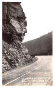 Old Man of the Canyon - Gauley Bridge, West Virginia WV Postcard