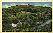 Camp Jacksons Mills  - Weston, West Virginia WV Postcard