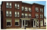 The Wells Inn - Sistersville, West Virginia WV Postcard