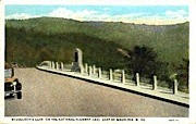 McColloch's Leap, National Highway - Wheeling, West Virginia WV Postcard