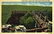 Lookout Point, Coopers Rock - West Virginia State Forest Park Postcards, West Virginia WV Postcard