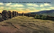 Coopers Rock  - West Virginia State Forest Park Postcards, West Virginia WV Postcard