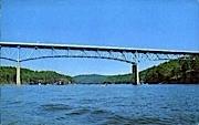 High Bridge  - Summerville, West Virginia WV Postcard
