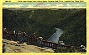 Cheat River Gorge  - West Virginia State Forest Park Postcards, West Virginia WV Postcard