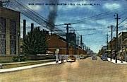 Main Street  - Weirton, West Virginia WV Postcard