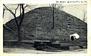 The Mound  - Moundsville, West Virginia WV Postcard