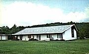 Main Assembly Hall  - Ripley, West Virginia WV Postcard