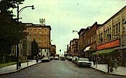 Main Street  - Beckley, West Virginia WV Postcard