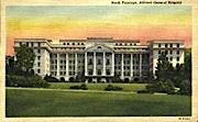 North Frontage  - Ashford General Hospital, West Virginia WV Postcard