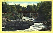 Babcock State Park  - West Virginia WV Postcard