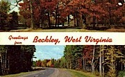 Beckley - West Virginia WV Postcard