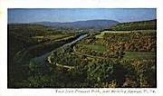 Prospect Park - Berkeley Springs, West Virginia WV Postcard