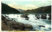 Sandstone Falls - New River Canyon, West Virginia WV Postcard