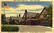 Chevy Chase Country Club - Wheeling, West Virginia WV Postcard