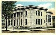 Post Office  - Moundsville, West Virginia WV Postcard