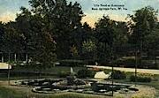 Rock Springs Park - West Virginia WV Postcard
