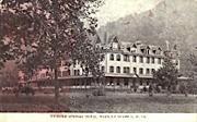Webster Springs Hotel - West Virginia WV Postcard