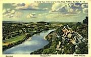 Lover's Leap - Berkeley Springs, West Virginia WV Postcard