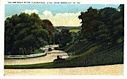 Road to St. Clairsville Ohio - Wheeling, West Virginia WV Postcard