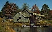 Mabry Mill, Blue Ridge Parkway - Blue Ridge Highlands, West Virginia WV Postcard