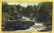 Babcock State Park, West Virginia,     ;     Babcock State Park, WV Postcard