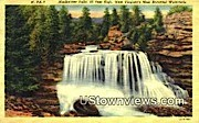 Blackwater Falls, WV,     ;     Blackwater Falls, West Virginia Postcard