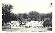 Lookout Motel - West Virginia WV Postcard