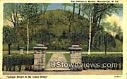 Prehistoric Mound - Moundsville, West Virginia WV Postcard