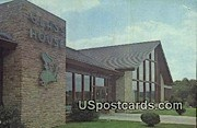 Interstate Hosts Glass House Restaurant - Beckley, West Virginia WV Postcard